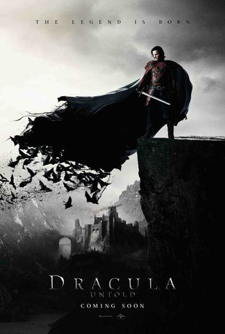 Dracula Untold 27x40 Movie Poster (2014)
