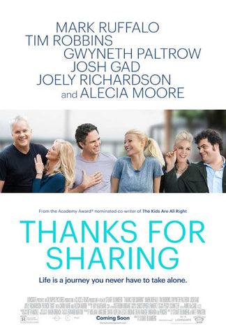 Thanks For Sharing 11x17 Movie Poster (2013)