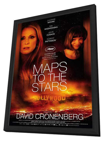 Maps to the Stars (German) 27x40 Framed Movie Poster (2015)