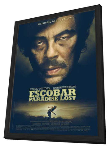 Escobar: Paradise Lost 11x17 Framed Movie Poster (2015)