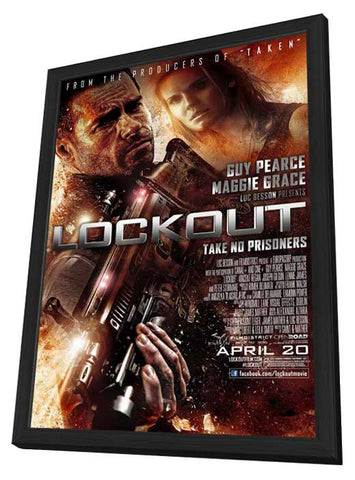Lockout 11x17 Framed Movie Poster (2012)