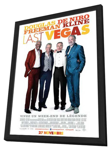 Last Vegas (French) 27x40 Framed Movie Poster (2013)