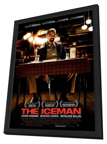 The Iceman 27x40 Framed Movie Poster (2013)
