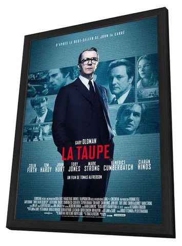 Tinker, Tailor, Soldier, Spy (French) 11x17 Framed Movie Poster (2011)