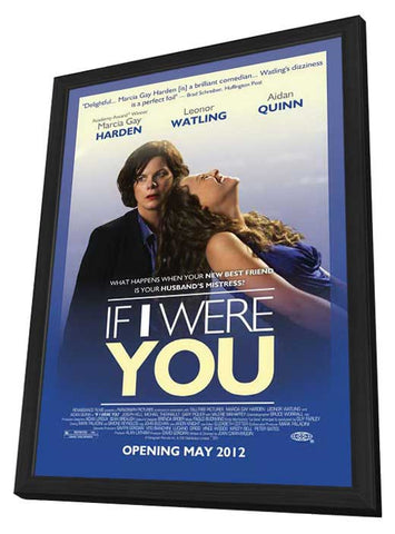 If I Were You 11x17 Framed Movie Poster (2013)