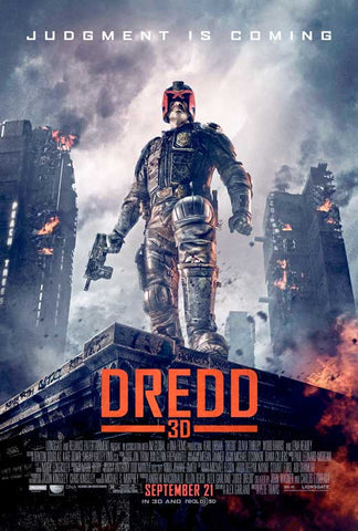 Dredd 27x40 Movie Poster (2012)