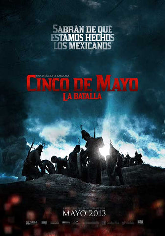 Cinco de Mayo, La Batalla (Mexican) 11x17 Movie Poster (2013)