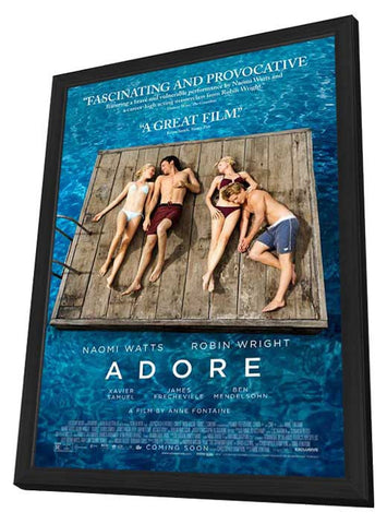 Adore 11x17 Framed Movie Poster (2013)