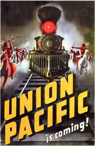 Union Pacific 11x17 Movie Poster (1939)