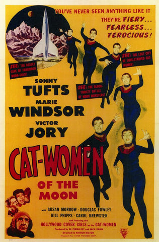 Cat Women of the Moon 11x17 Movie Poster (1954)