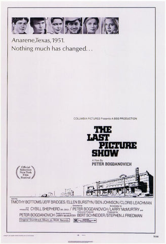 The Last Picture Show 11x17 Movie Poster (1971)