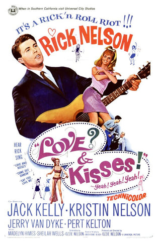 Love and Kisses 11x17 Movie Poster (1965)