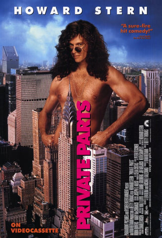 Private Parts 11x17 Movie Poster (1997)