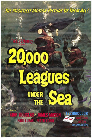 20,000 Leagues Under the Sea 11x17 Movie Poster (1971)