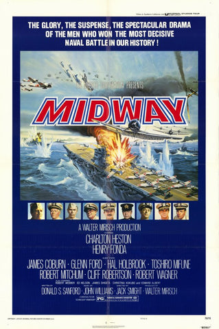 Midway 11x17 Movie Poster (1976)