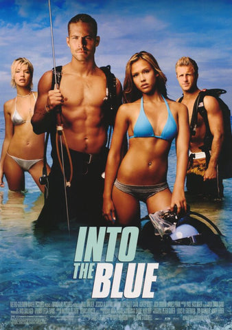Into the Blue 11x17 Movie Poster (2005)