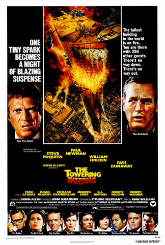 The Towering Inferno 27x40 Movie Poster (1974)
