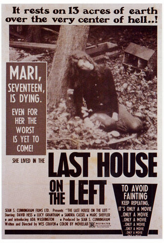 Last House on the Left 27x40 Movie Poster (1972)