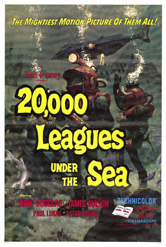20,000 Leagues Under the Sea 27x40 Movie Poster (1971)