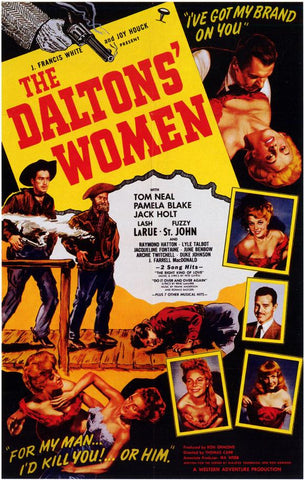 The Daltons' Women 27x40 Movie Poster (1950)