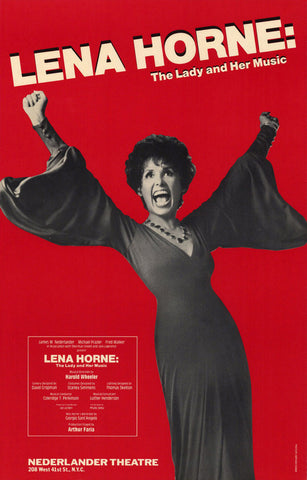 Lena Horne - The Lady and Her Music 27x40 Movie Poster (1981)