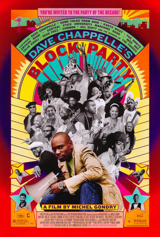 Block Party 27x40 Movie Poster (2006)