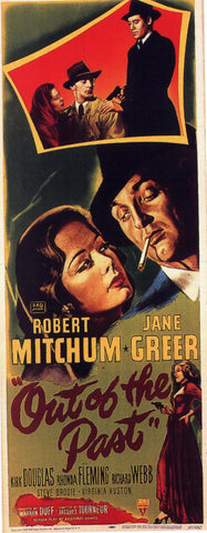 Out of the Past 14x36 Movie Poster (1947)