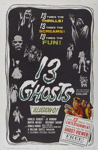 13 Ghosts 11x17 Movie Poster (1960)