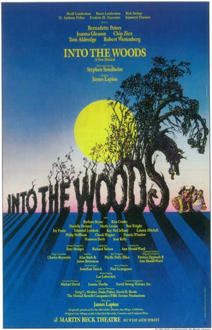 Into the Woods 11x17 Broadway Show Poster (1987)