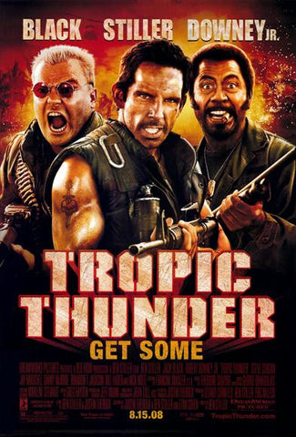 Tropic Thunder 11x17 Movie Poster (2008)