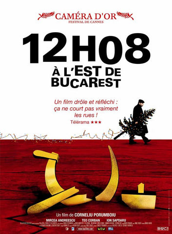 12:08 East of Bucharest (French) 11x17 Movie Poster (2006)