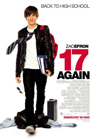 17 Again (German) 11x17 Movie Poster (2009)