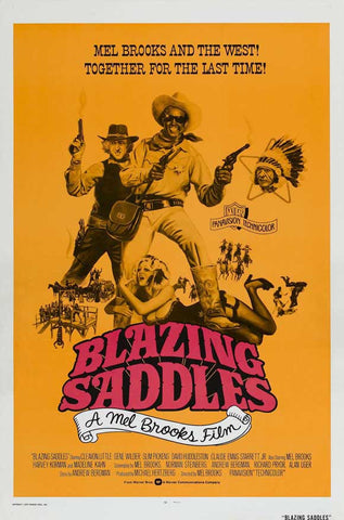 Blazing Saddles 11x17 Movie Poster (1974)