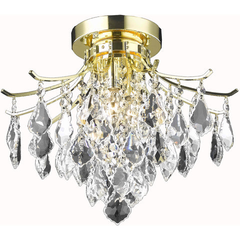 "Bianca 8"" Diam Chandelier, Bronze Finish"