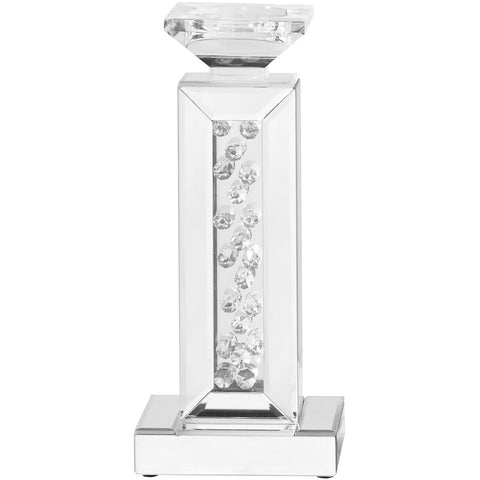 "Sparkle 6"" Contemporary Crystal Candleholder"