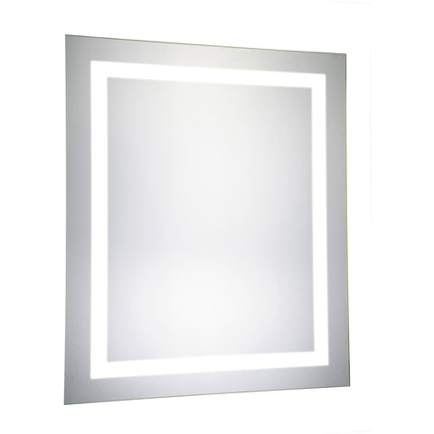 "Nova Dimmable 5000K 20""x30"" Rectangle LED Electric Mirror"