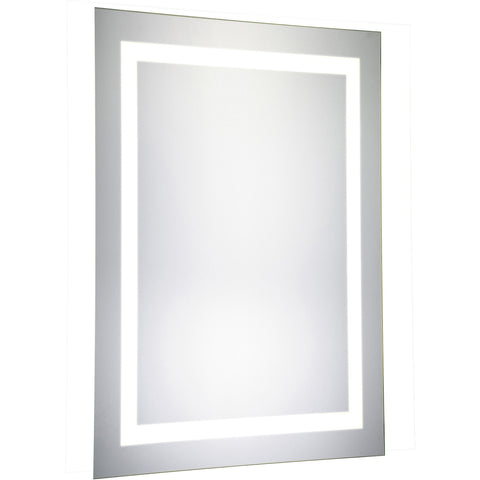 "Nova Dimmable 5000K 20""x40"" Rectangle LED Electric Mirror"