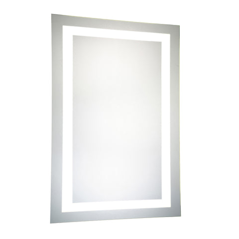 "Nova Dimmable 5000K 24""x40"" Rectangle LED Electric Mirror"