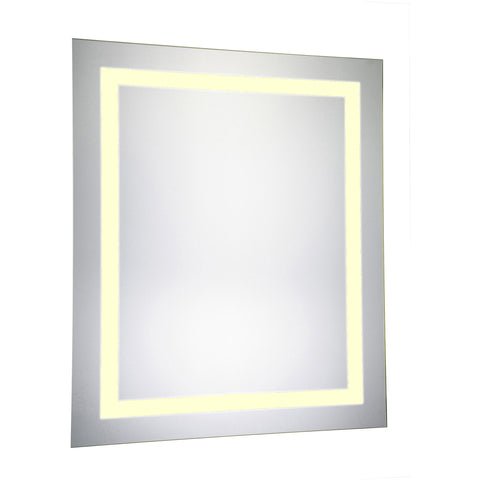 "Nova Dimmable 3000K 20""x30"" Rectangle LED Electric Mirror"