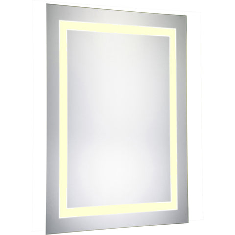 "Nova Dimmable 3000K 20""x40"" Rectangle LED Electric Mirror"