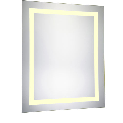 "Nova Dimmable 3000K 24""x30"" Rectangle LED Electric Mirror"