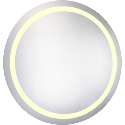 "Nova Dimmable 3000K 36""x36"" Round LED Electric Mirror"
