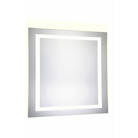 "Nova 4-Side Dimmable 5000K 36""x36"" Rectangle LED Electric Mirror"