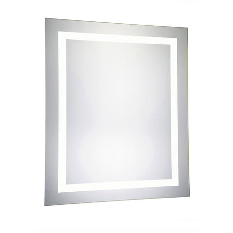 "Nova 4-Side Dimmable 5000K 32""x40"" Rectangle LED Electric Mirror"