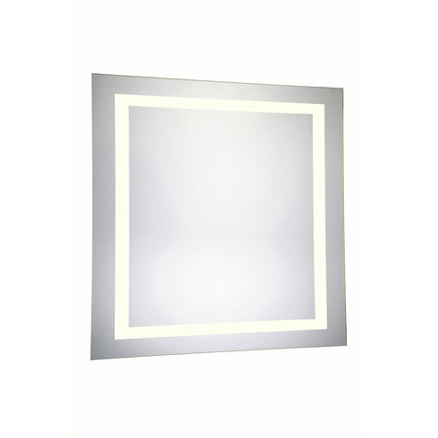 "Nova 4-Side Dimmable 3000K 36""x36"" Rectangle LED Electric Mirror"