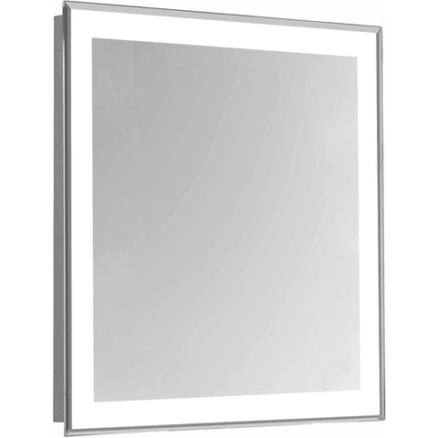 "Nova 4-Side Dimmable 5000K 20""x30"" Rectangle LED Edge Electric Mirror"