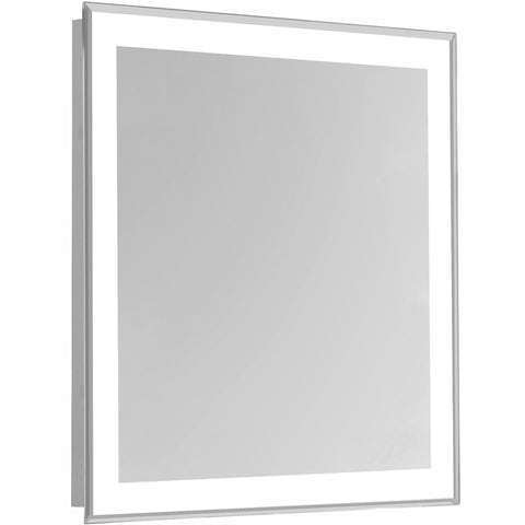 "Nova 4-Side Dimmable 5000K 32""x40"" Rectangle LED Edge Electric Mirror"