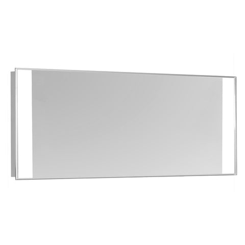 "Nova 2-Side Dimmable 5000K 20""x40"" Rectangle LED Edge Electric Mirror"