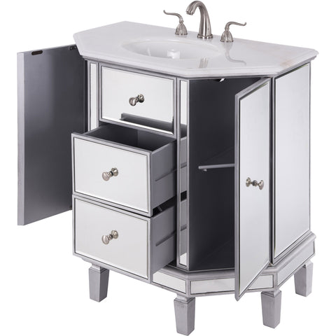 "Nouveau 35"" Single Bathroom Vanity Set"