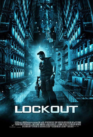 Lockout 27x40 Movie Poster (2012)